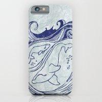 Whales & Waves iPhone 6 Slim Case