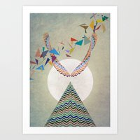 The Shaman Art Print