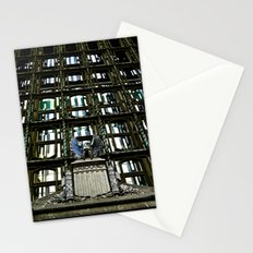 Federal Building Window  Stationery Cards