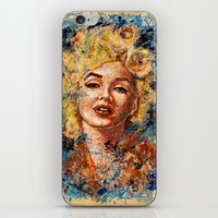 Blonde Bombshell iPhone & iPod Skin