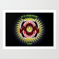 It's Morphin' Time - Gre… Art Print