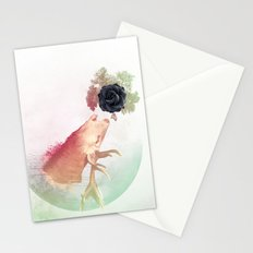 Deer Howling for NATURE!  Stationery Cards