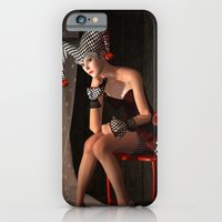 iPhone Cases featuring Clowns backstage by Britta Glodde