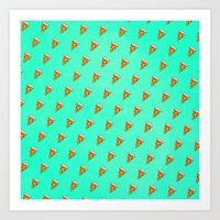 Cool And Trendy Pizza Pa… Art Print