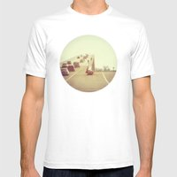 Fork In The Road Mens Fitted Tee White SMALL