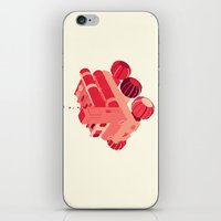 Red 2 iPhone & iPod Skin