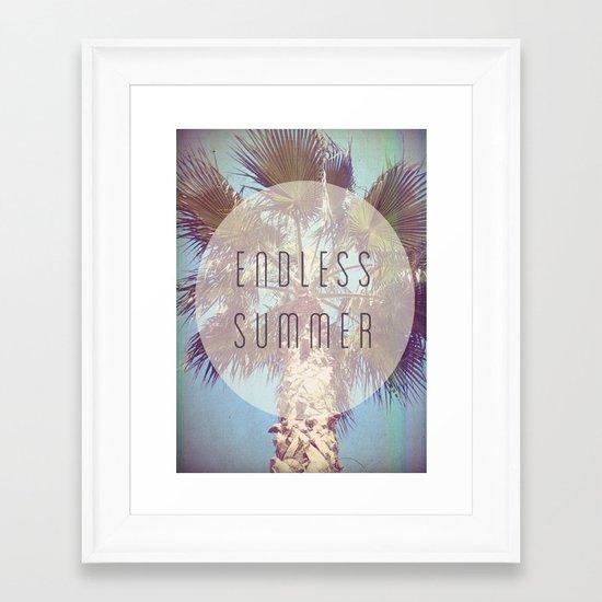 Endless Summer Framed Art Print