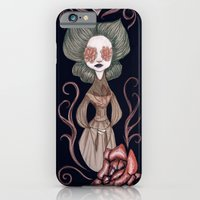 iPhone & iPod Case featuring flowerlady by mloyan