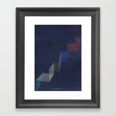 upstairs... Framed Art Print