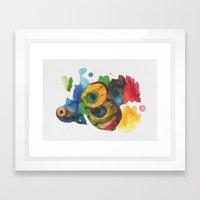 Colorful Fish 3 Framed Art Print