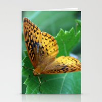 Great Spangled Fritillary Butterfly Stationery Cards