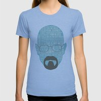 Walter White Said Womens Fitted Tee Athletic Blue SMALL