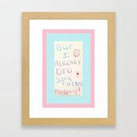 Unbreakable Kimmy Schmid… Framed Art Print