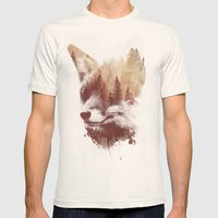 Blind Fox Mens Fitted Tee Natural SMALL