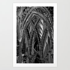 A Church Art Print