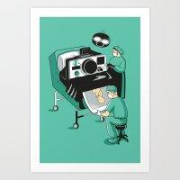 Photo Op Art Print