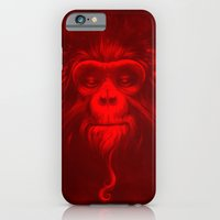 iPhone & iPod Case featuring Twelfth Monkey by Dr. Lukas Brezak