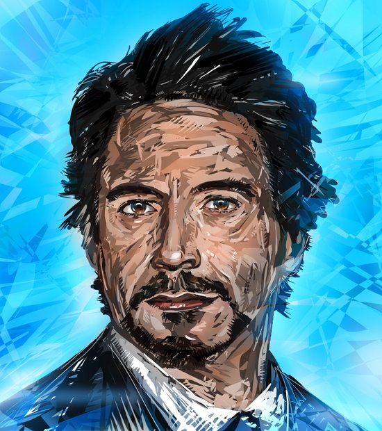 Robert Downey Jr Art Print