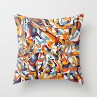 Inner Symphony Throw Pillow