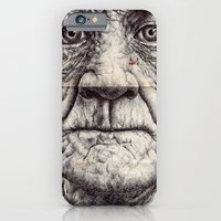 iPhone Cases featuring (10) bic biro on vintage envelope by Mark Powell Bic Biro Drawings