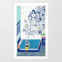 Time Is Never Enough Art Print