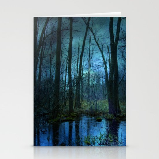 Woodland Twilight Stationery Card