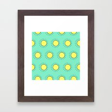 Summericious! Framed Art Print