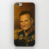 Robin Williams - replaceface iPhone & iPod Skin