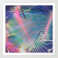 Refraction I Art Print