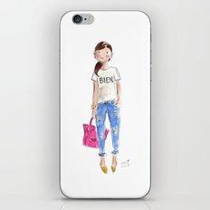 Bien Watercolor iPhone & iPod Skin