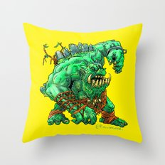 Straight Trollin' Throw Pillow