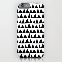 Playful triangles iPhone 6 Slim Case