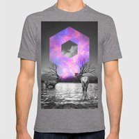 Made Of Star Stuff Mens Fitted Tee Tri-Grey SMALL