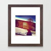 I Love My Iphone Framed Art Print