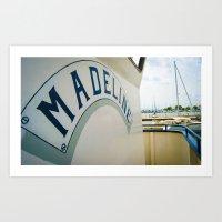 Madeline-color  Art Print