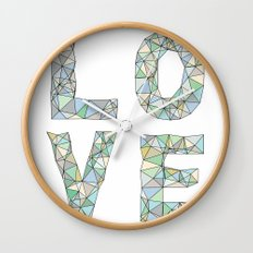 A Four Letter Word Wall Clock