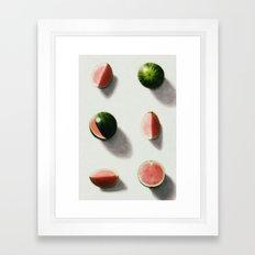 fruit 14 Framed Art Print