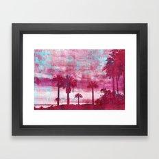 Pacific Island Framed Art Print