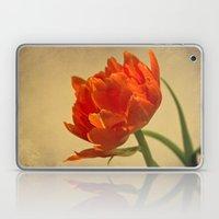 Orange Tulips Laptop & iPad Skin