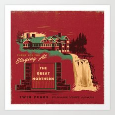 THE GREAT NORTHERN Art Print