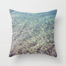 seaplant Throw Pillow