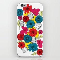 Scandinavian Flowers iPhone & iPod Skin