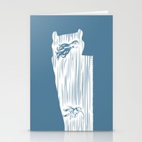 Deep Seasaw Diver Stationery Cards