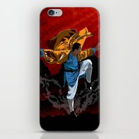 Shaolin Kung Fu iPhone & iPod Skin