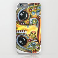iPhone & iPod Case featuring The Forlorn Alien by Arcane