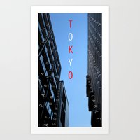 itsTokyo Art Print