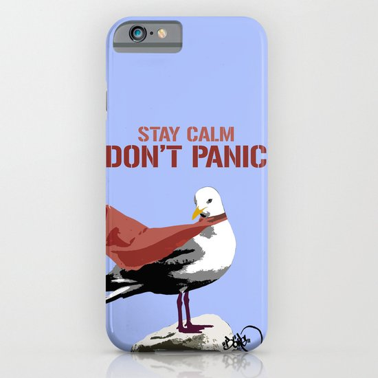 Stay calm - Don't panic iPhone & iPod Case