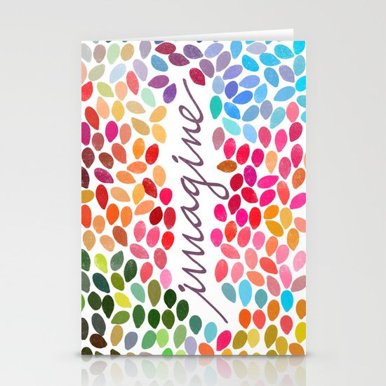 Imagine by Anna Carol & Garima Dhawan Stationery Card