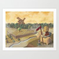 don chisciotte Art Print