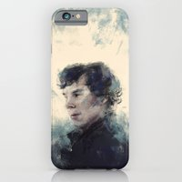 iPhone & iPod Case featuring Sherlock by nlmda